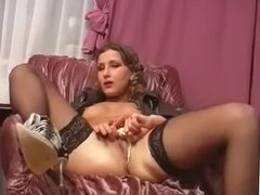 Hot Russian Girl Masturbating