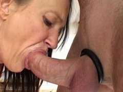 anal creampie on red ass