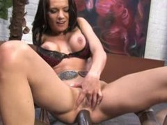 Busy MILF love BBC in the Ass