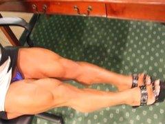 Alina Flexing her godlike muscles