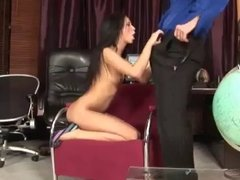Anal for beautiful brunette