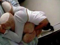 me and my teddy bear