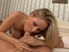 Hot Blonde Cougar Legend Banging