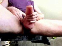 Shake my pumped foreskin cock
