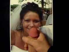 cum tribute for the bride