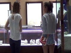 Girl Picking Up Other Girls in Las Vegas