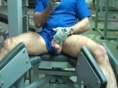 Making a mess at the gym