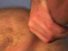 Cum inside his ass, then lick it out