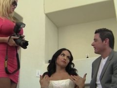 Suck your bride's cock