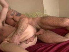 Big dicked daddy & his cum whore