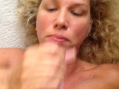 Handjob and facial