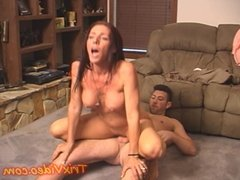 Milf housewife fucks ALL her Neighbors