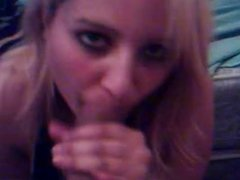 amateur Blowjob Facial blonde