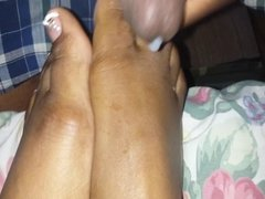 Load On Size 10 French Tips