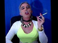 Master's Sissy Faggot Smokes