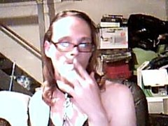 Smoking with collar my only toy.