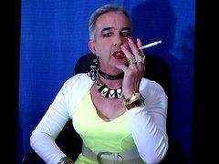 Master's Owened Faggot Smoking Again