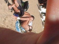 on the beach, mini panties number 2
