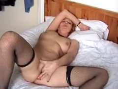 Hot Mature On A Bed