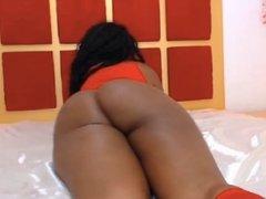 Hot Big Black Latina booty