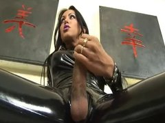 Luciana Foxx in Latex Uncensored