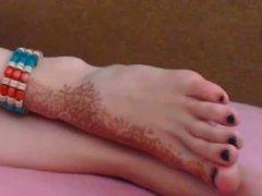 FeetStation TV : Sexy Feet Black Toes
