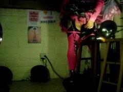Tgirl BBC slut teases Tony's BB12inchC for a deep pounding