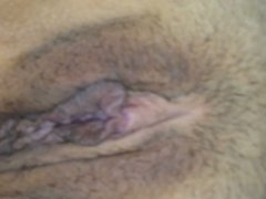 Showing my inside pussy