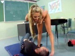 Kiss the teachers ass