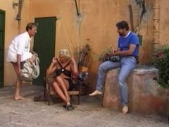 Mature and two men - 4