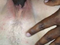Clit Tease Interracial