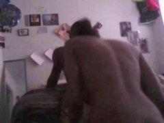 Nice webcam interracial fucking
