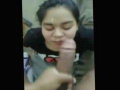 Asian girl milks huge bbc