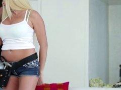 Hot Busty Blonde MILF Cougar Plumber Bang