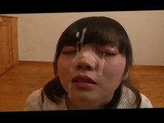 Cute asian facial