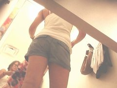 Sexy Asian Teen Dressing Room Ass