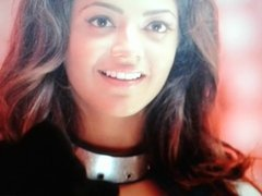 Facial cum tribute to my angel Kajal agarwal