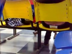 SDRUWS2 - PANTY THONG IN WAITING ROOM