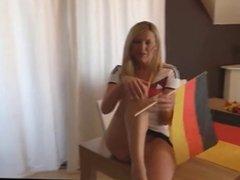 sex with German girl soccer fan