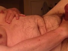 Artemus. - Man Tits and Large Nipples Cum Covered