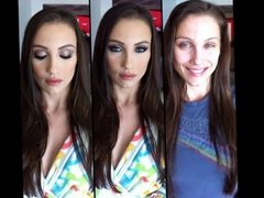 44 Porn Stars Before and After Their Makeup