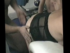 P 2-3: Madam makes me CUCKOLD while I wank in my hotel room