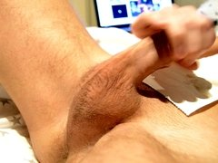 My pulsating cock, anus & PC muscle