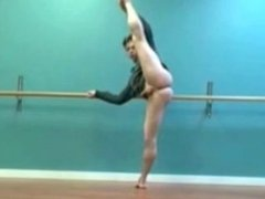 Male ballet practice (without tights!)
