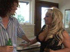 Busty blonde milf anal.