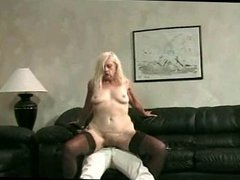 Granny Kathy Puts Young Cock To Good Use