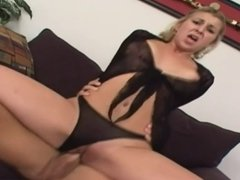 Young blonde with hot pussy