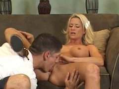 Two Guys Pickup Sexy Blonde MILF