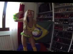 world cup fan
