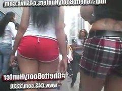 candid Latina booty